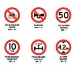 señalizaciones viales