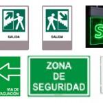 letreros de salida