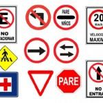 letreros de transito