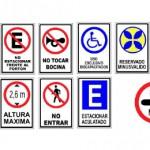 señaleticas de estacionamientos