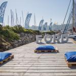 cojines con logo Ford